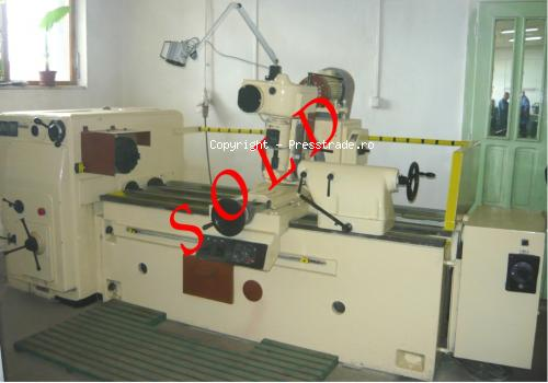 Thread and spline shaft milling machine ZFWVG 250 x 1250