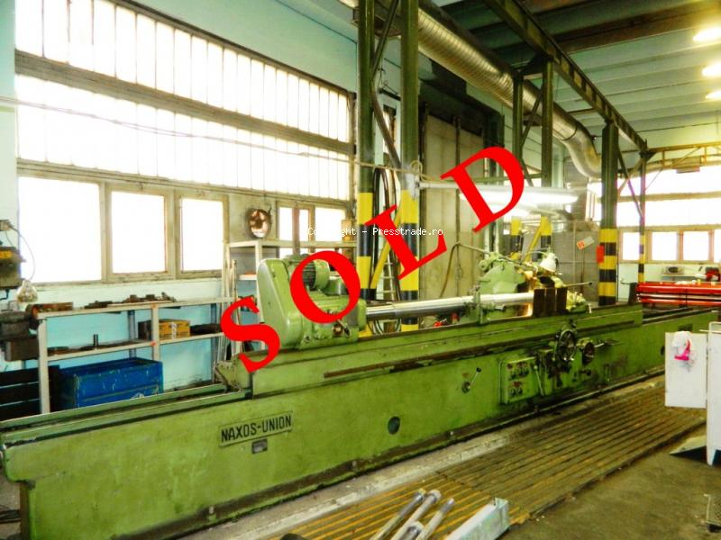 Cylindrical Grinding Machine NAXOS type WSE 3/4000 - SOLD