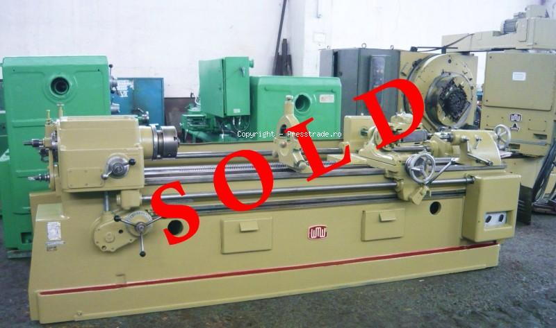 Thread and worm milling machine WMW HECKERT type GFL 400 x 2000 - SOLD
