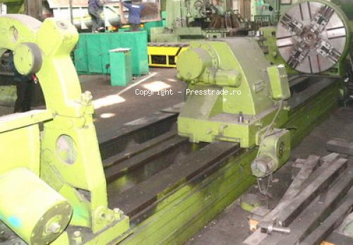 Heavy duty lathe SKODA 1600 x 6000 mm - sold
