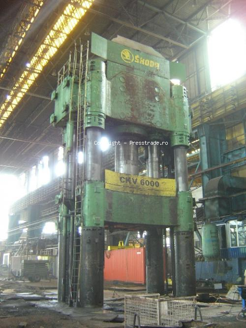 Forging press SKODA type CKV 6000 - sold