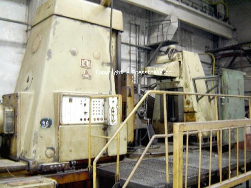 Gear hobbing machine MODUL type ZFWZ 2000 - sold