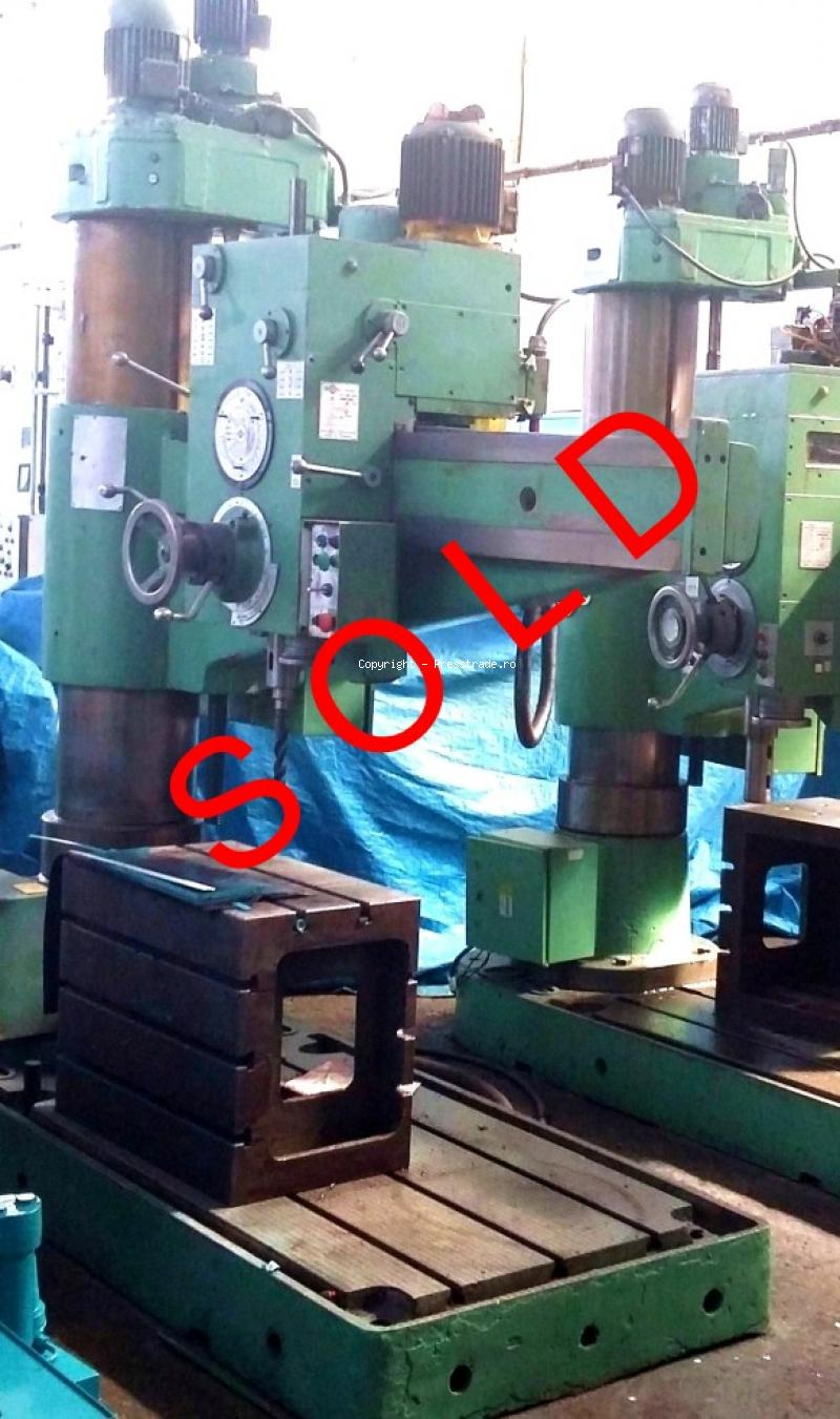 Radial drilling machine INFRATIREA type GR 616 M - SOLD