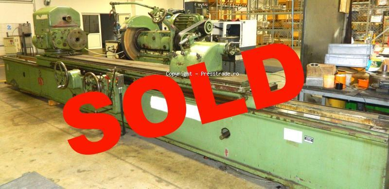 Cylindrical grinding machine WMW type SA 500 x 3000 - SOLD