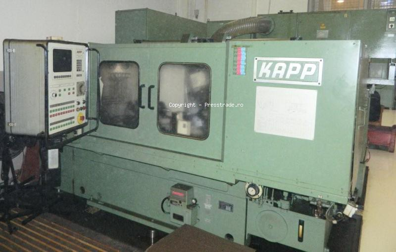 KAPP VAS 482 CNC profile gear grinding machine