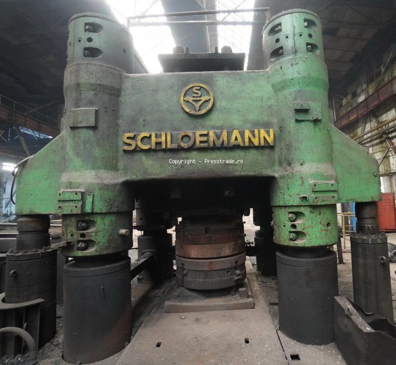 SCHLOEMANN wheel forging line