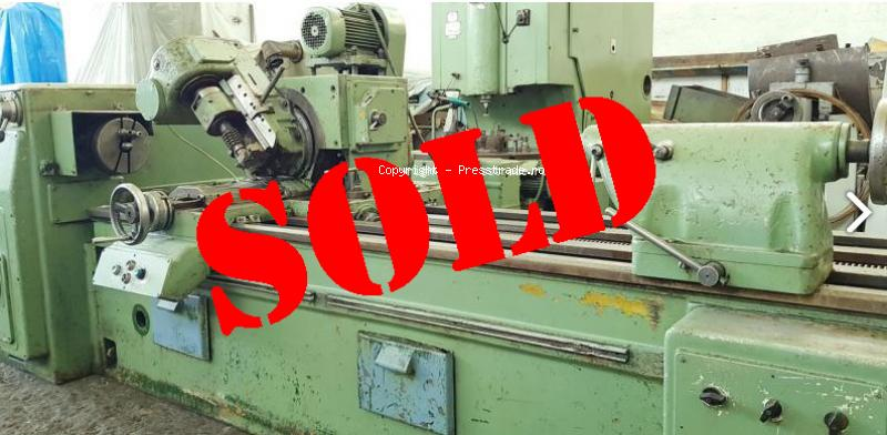 WMW Heckert GFLV 250 x 2000 thread and worm milling machine - SOLD