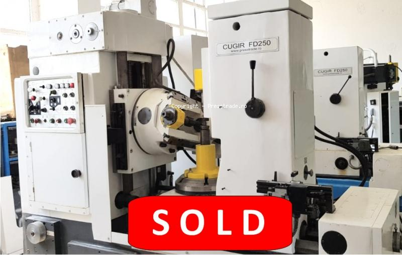 Gear hobbing machine CUGIR type FD 250 - SOLD